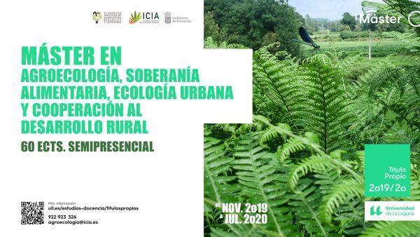 Máster en Agroecología, Soberanía Alimentaria, Ecología Urbana y Cooperación al Desarrollo Rural