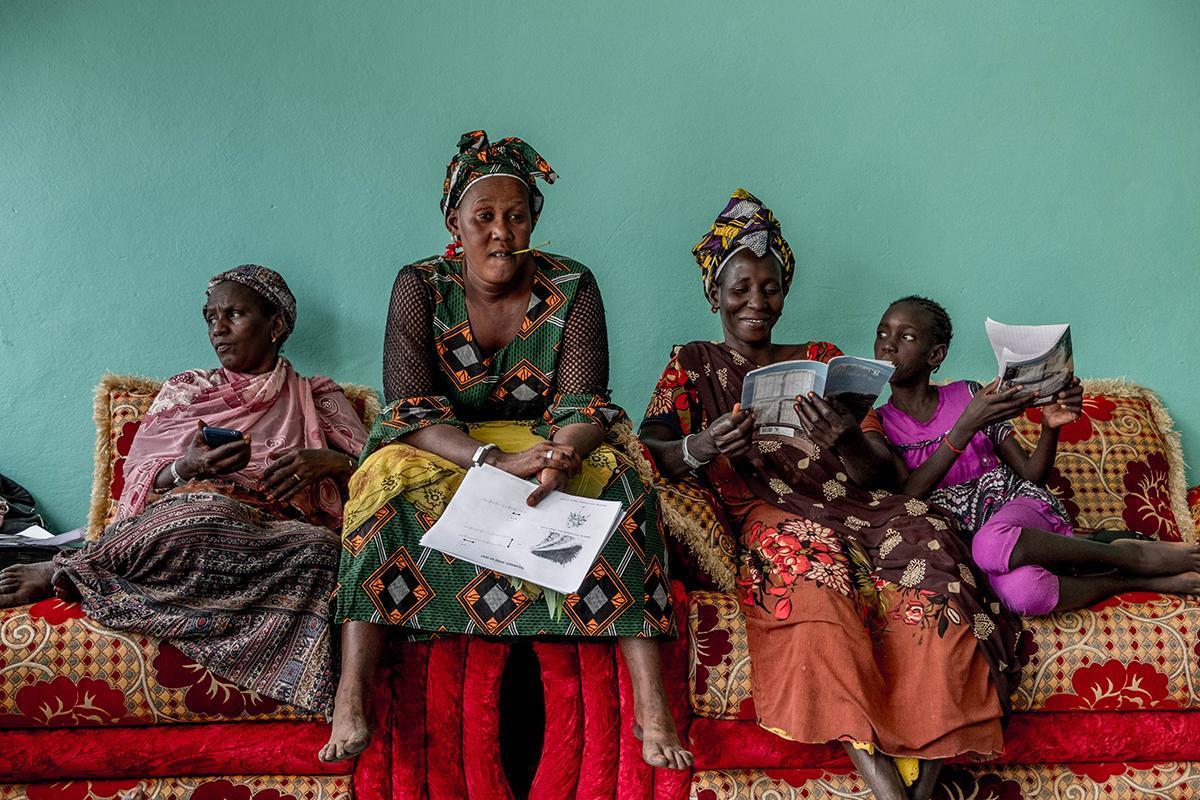 Exposición 'Vidas campesinas en el Valle del Río Senegal'