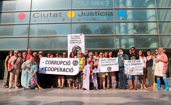 La ciudadanía valenciana pide una sentencia justa en el Caso Blasco