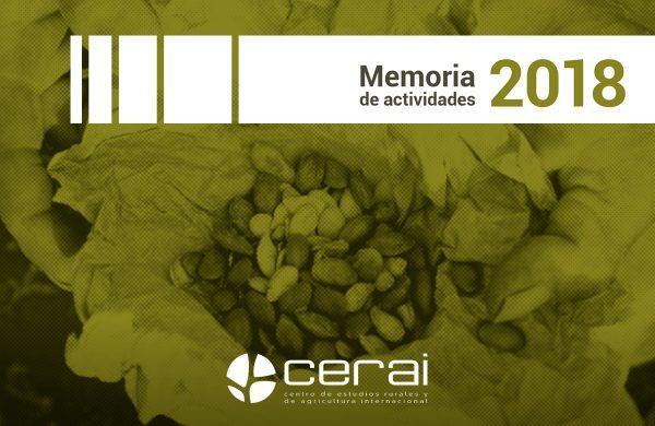 Memoria de Actividades de CERAI: caminando hacia el 25 aniversario