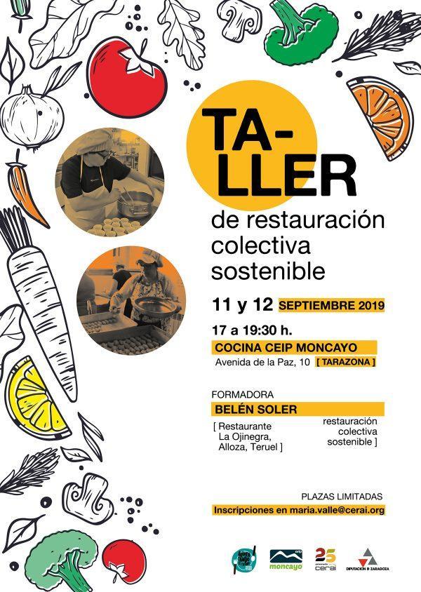 Taller de restauración colectiva sostenible, en Tarazona
