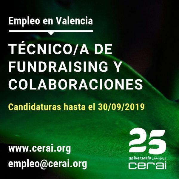 Técnico/a de fundraising y colaboraciones