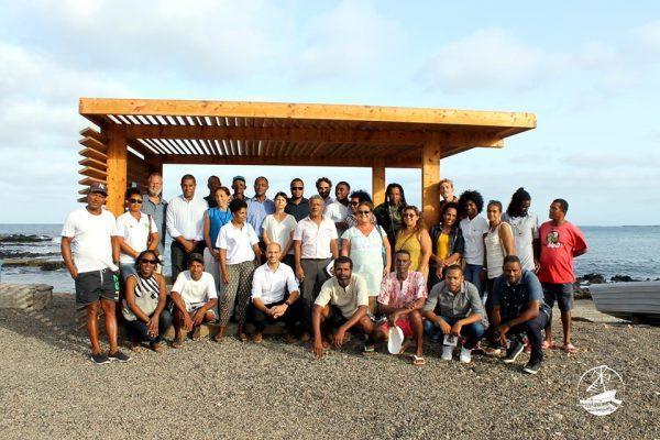 Acto de cierre del proyecto de turismo solidario en Cabo Verde