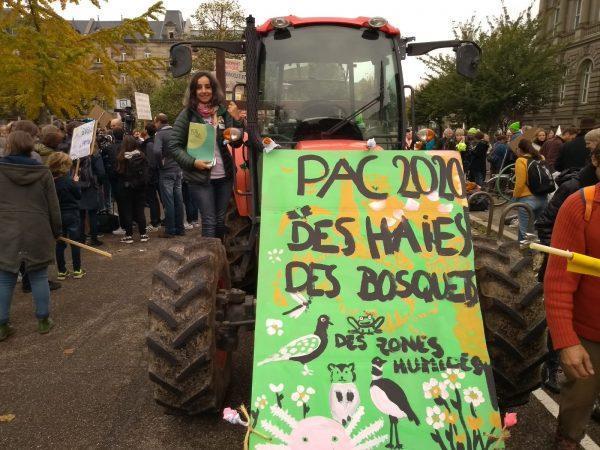 La ciudadanía se moviliza para pedir una nueva política agraria europea