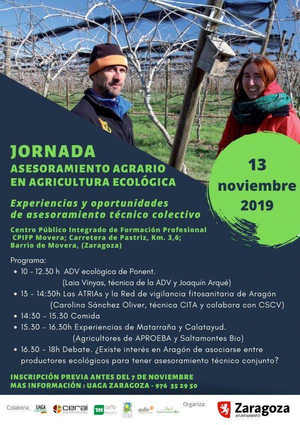 Jornada sobre asesoramiento agrario en agricultura ecológica