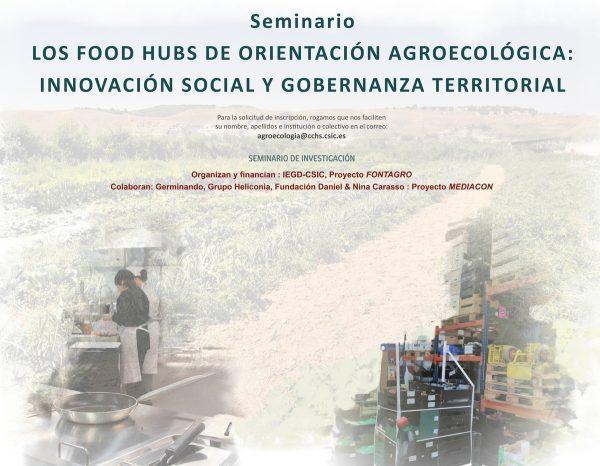 """Seminario """"Los Food Hubs de orientación agroecológica"""""""