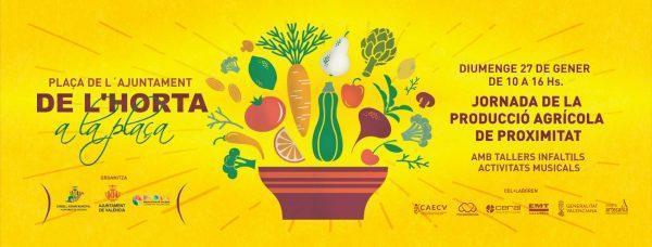 Jornada de la producción agrícola de proximidad: De l'Horta a la Plaça