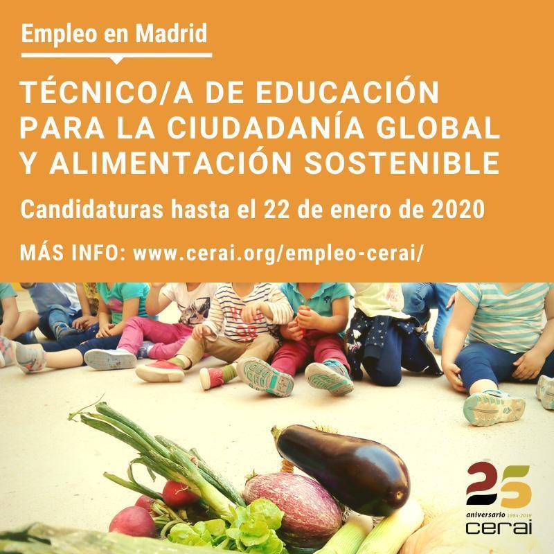 Empleo: Técnico/a de Educación para la Ciudadanía Global y ...