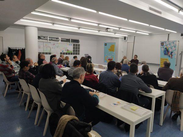 Participamos en la Asamblea territorial de 'FIARE Banca Etica Alacant, Castelló i València'