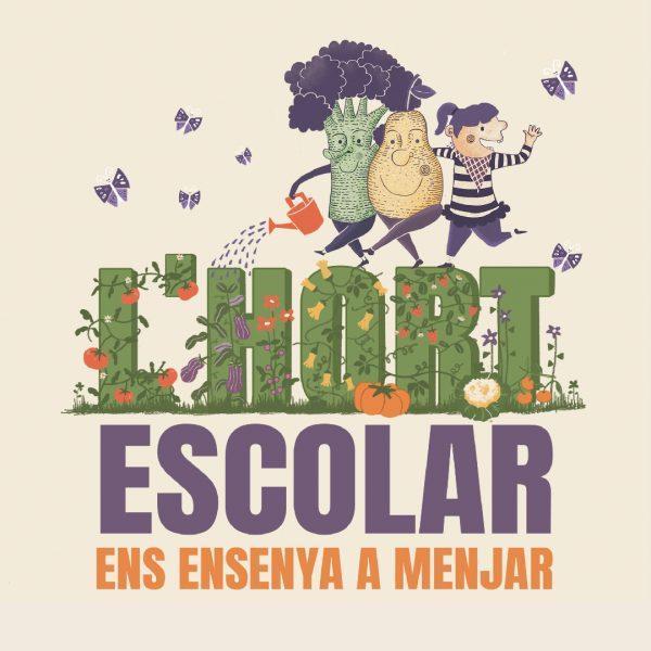 El manual 'El huerto escolar nos enseña a comer', disponible en valencià