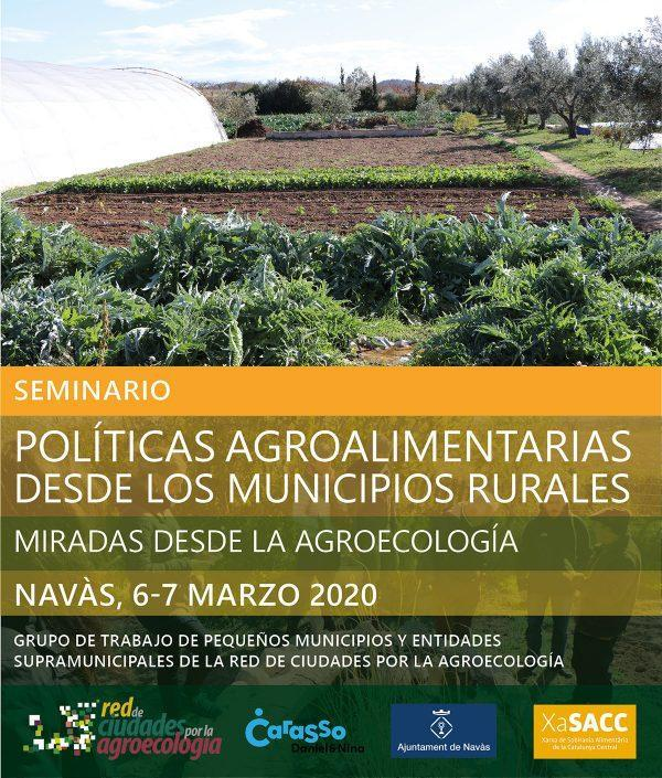 Seminario 'Políticas agroalimentarias desde los municipios rurales'