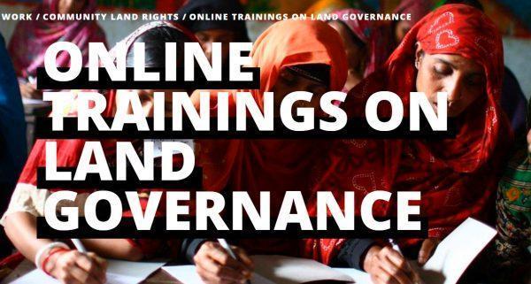Formación online sobre Gobernanza de la Tierra