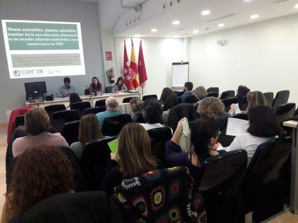 Iniciamos en Madrid el proyecto «Menús sostenibles, planeta saludable»