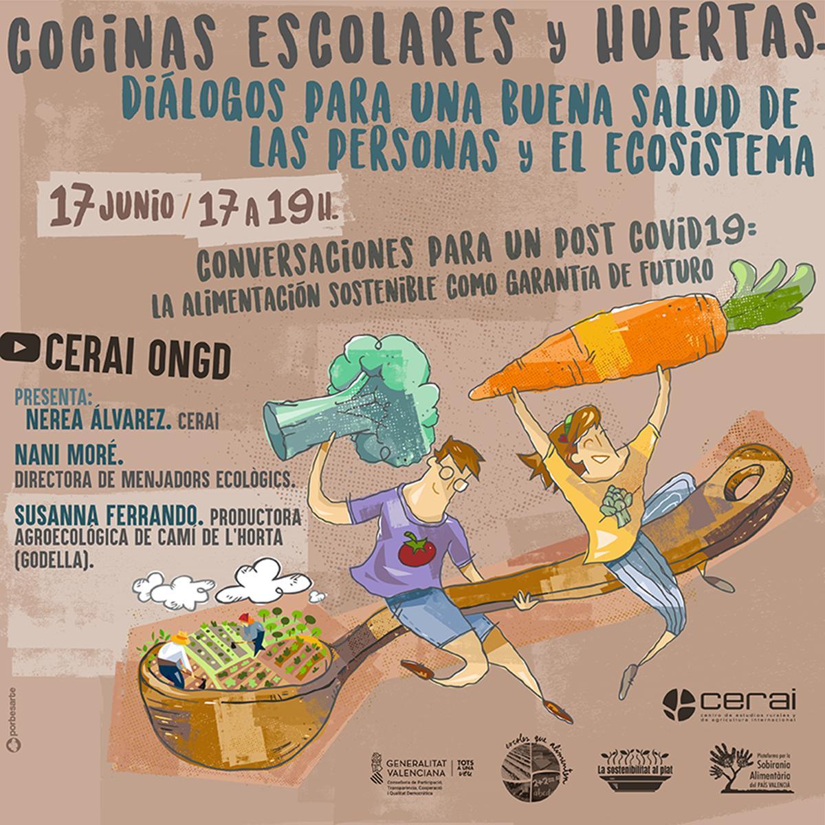 Cocinas y huertas: digálogos para la salud de las personas y el ecosistema