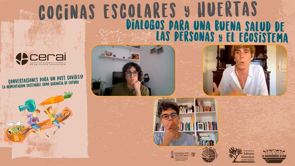Cocinas Escolares y Huertas - Dialogos para una buena salud de las personas y el ecosistema