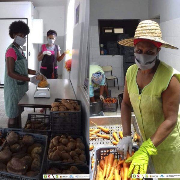 Redes de solidaridad y apoyo mutuo se despliegan con fuerza en Cabo Verde