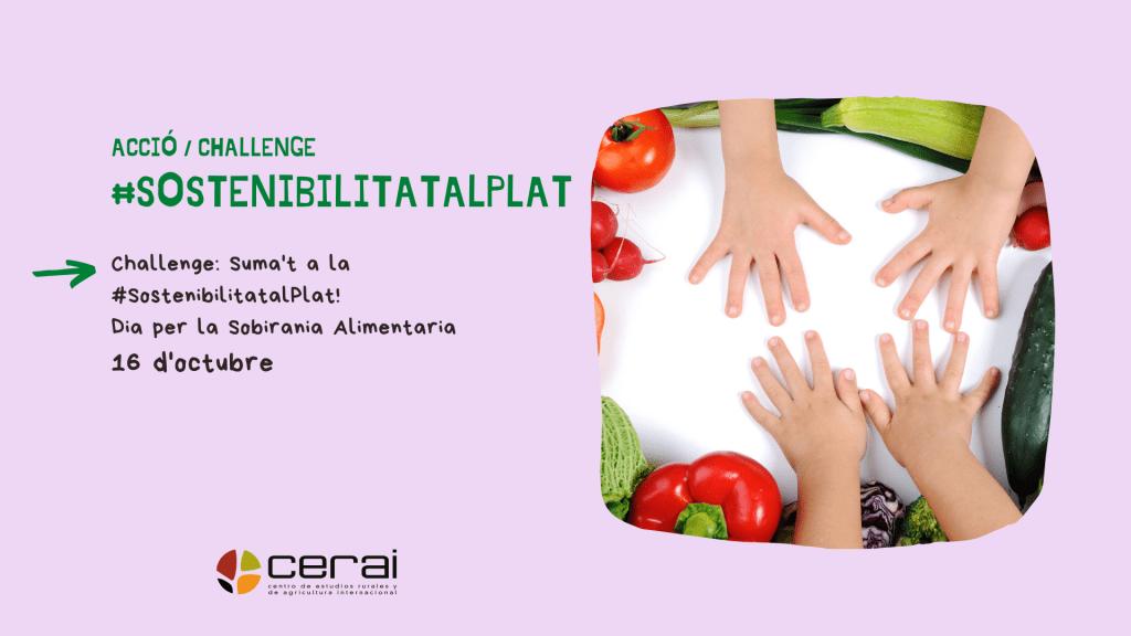 Acción. Día por la Soberanía Alimentaria de los Pueblos. CERAI