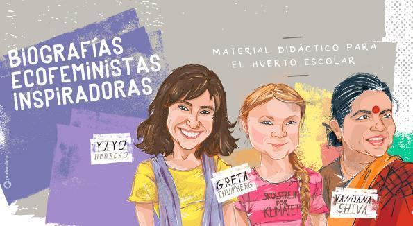 Yayo Herrero inspira la primera de 9 biografías ecofeministas editadas por CERAI