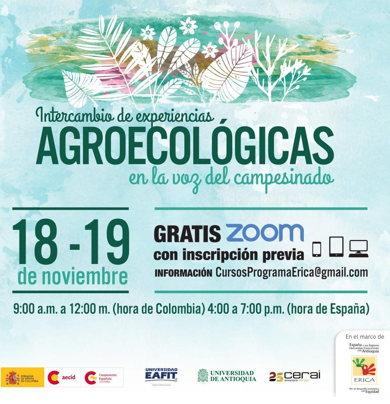 Intercambio de experiencias agroecológicas en la voz del campesinado