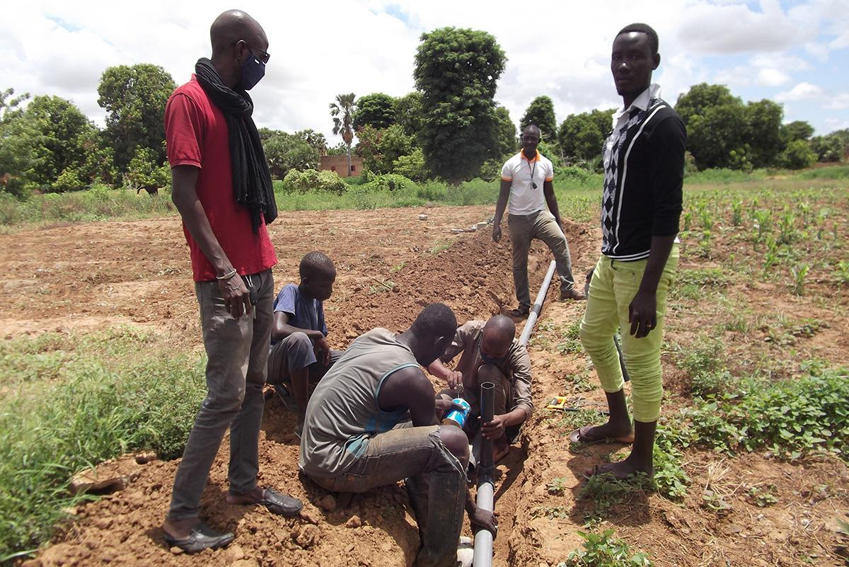 Promovemos mejoras en el acceso al agua de riego en Mali