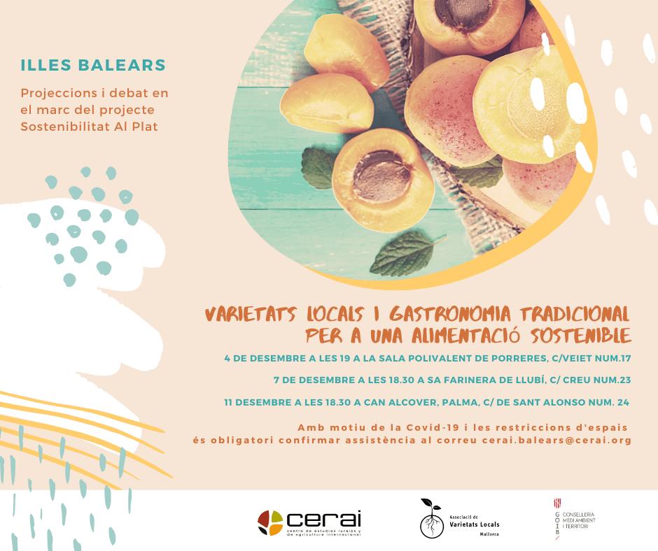 Varietats locals i gastronomia tradicional per a una alimentació sostenible