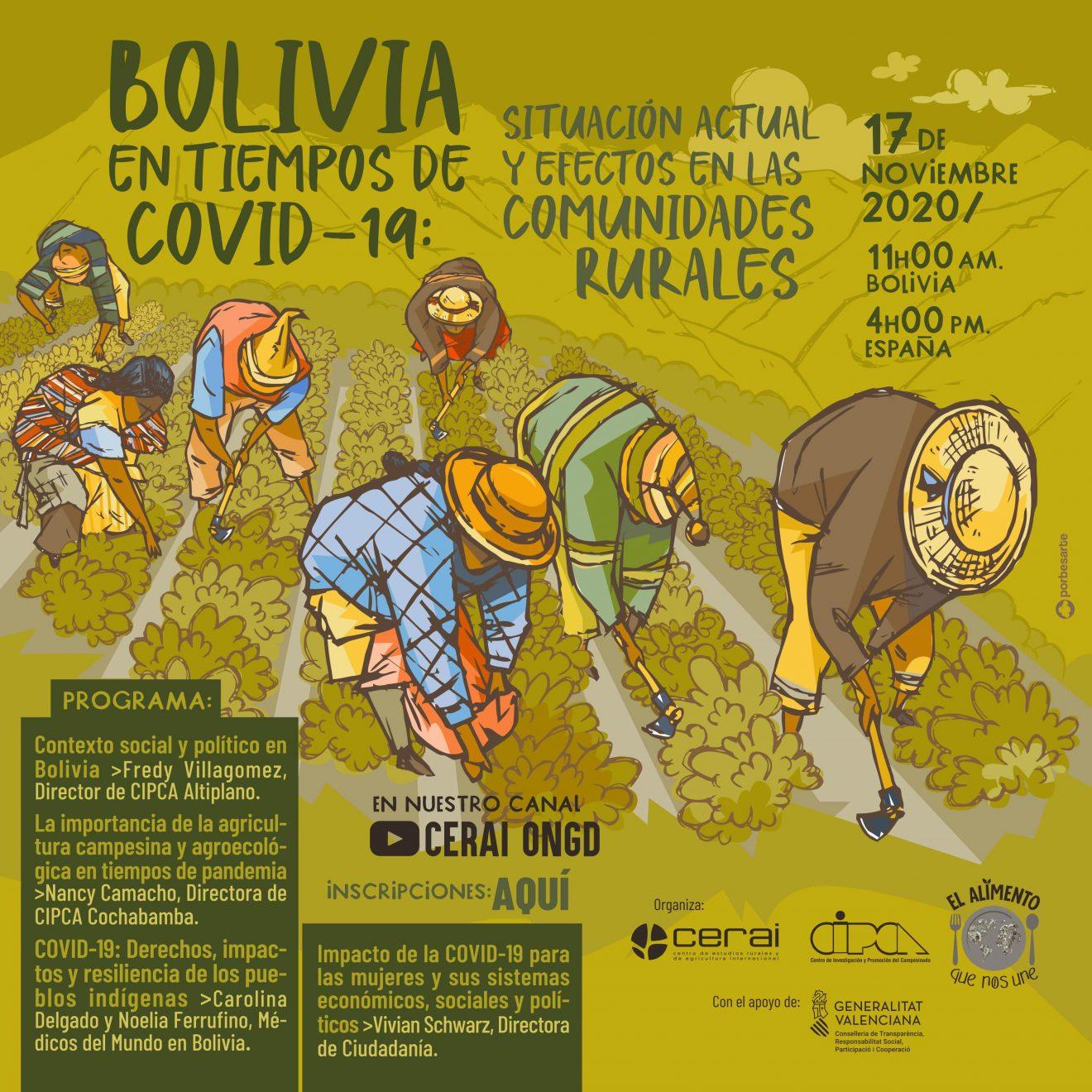 Bolivia en tiempos de COVID-19: Situación actual y efectos en las comunidades rurales