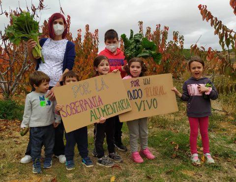 Educando por y para la Soberanía Alimentaria en el Valle del Manubles