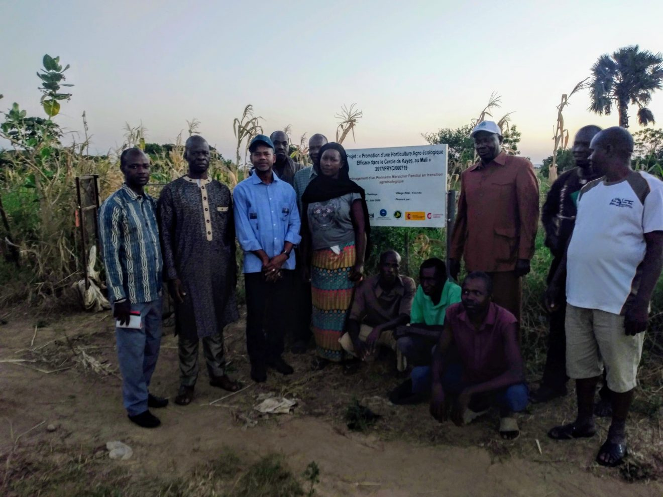 Visita institucional de la Dirección Nacional de Ingeniería Rural de Mali a los proyectos de CERAI