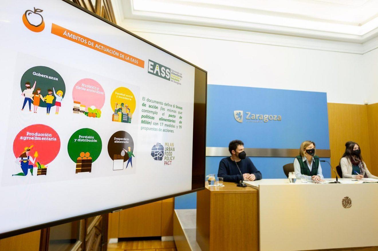 CERAI y Mensa Cívica acompañaremos el desarrollo de la Estrategia de Alimentación Sostenible y Saludable de Zaragoza
