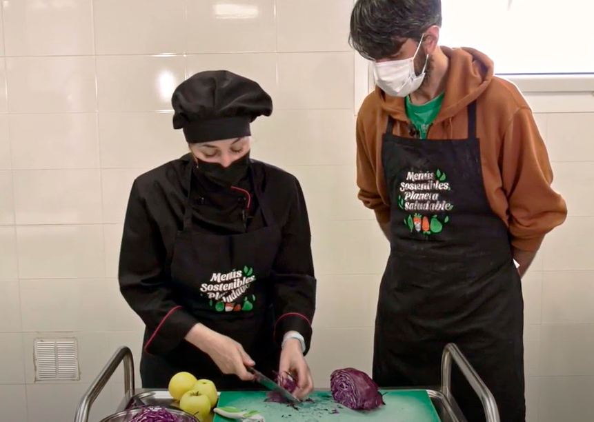video receta lombarda con manzana