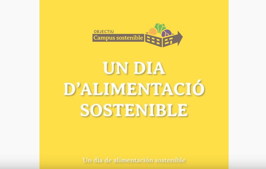 Recetas de Campus Sostenible: Un día de alimentación sostenible
