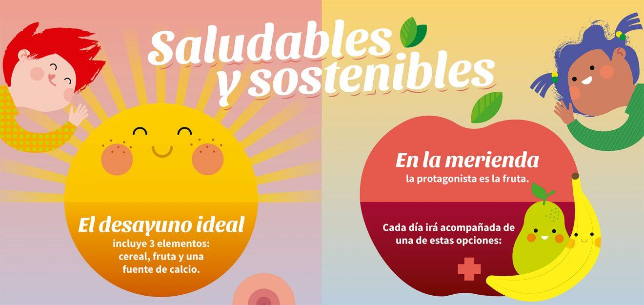 Descarga aquí el nuevo póster para preparar desayunos y meriendas sostenibles