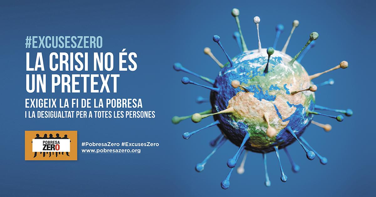 Apoya con tu adhesión el Manifiesto 2021 de Pobresa Zero